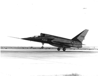F-107A takeoff in California