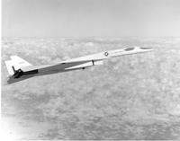North American XB-70 in flight